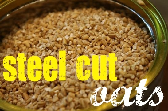 let's take a time out to talk about steel cut oats, shall we?