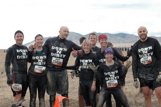 8ad0498ea we kept trekking through the tough mudder course. we were about eight miles  in and my left knee was starting to hurt. remember, my longest distance  prior to ...
